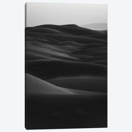 Black Dunes Canvas Print #FBK205} by Design Fabrikken Canvas Artwork