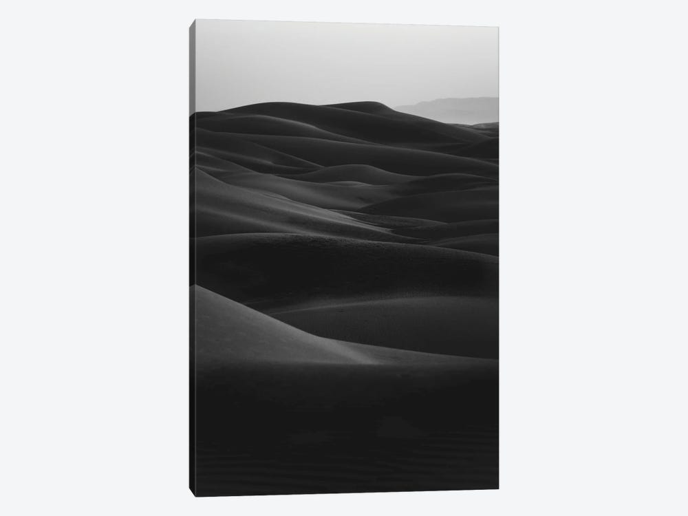 Black Dunes by Design Fabrikken 1-piece Canvas Print