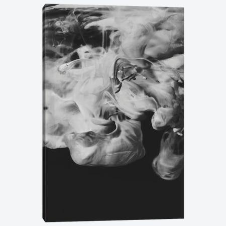 Black Ink Canvas Print #FBK206} by Design Fabrikken Canvas Art