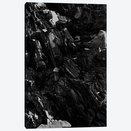 Black Rock Canvas Print #FBK210} by Design Fabrikken Canvas Wall Art