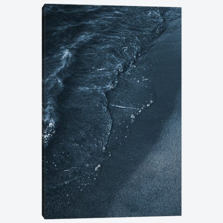 Blue Beach Canvas Print #FBK212} by Design Fabrikken Canvas Art