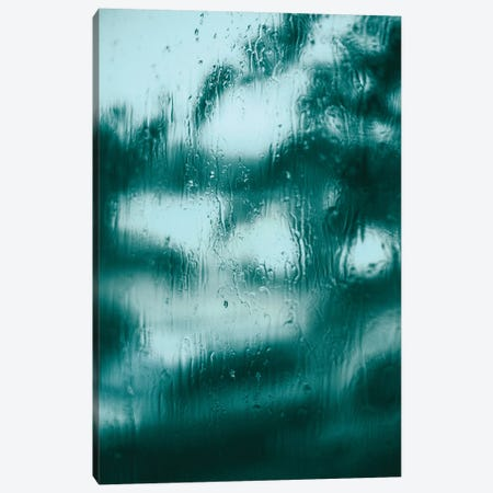 Blue Motion Canvas Print #FBK213} by Design Fabrikken Canvas Artwork