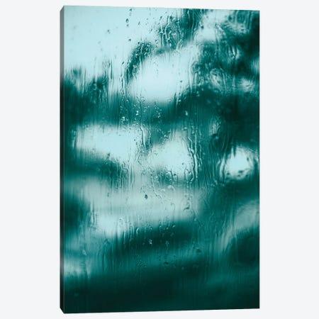 Blue Motion Canvas Print #FBK213} by Design Fabrikken Canvas Artwork