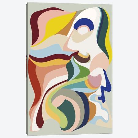 Born Again II Canvas Print #FBK214} by Design Fabrikken Canvas Art Print