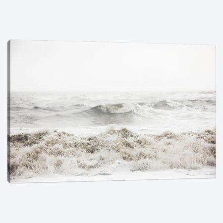 Breaking Waves Canvas Print #FBK221} by Design Fabrikken Canvas Print