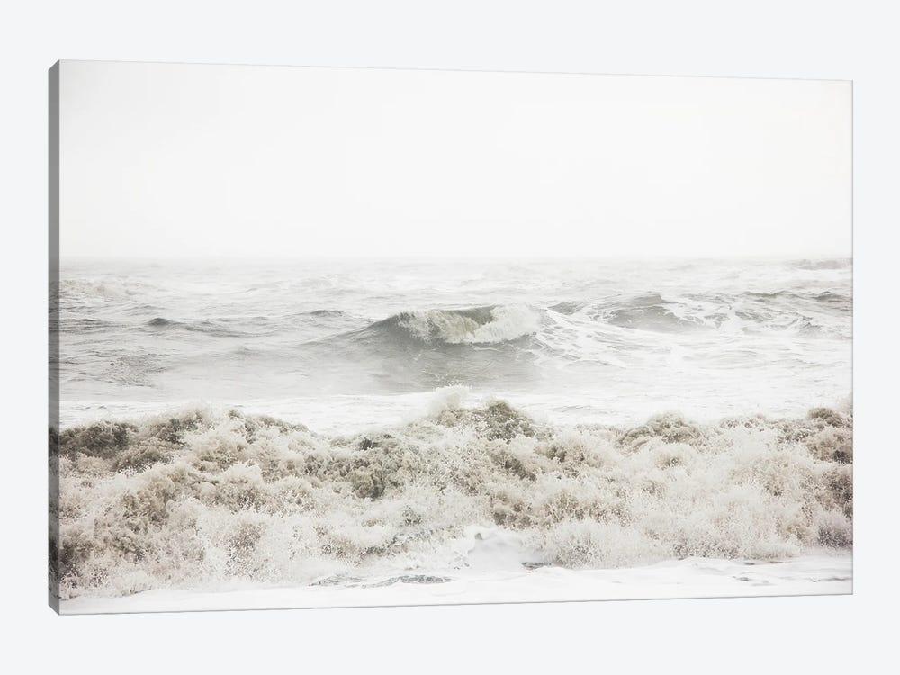 Breaking Waves by Design Fabrikken 1-piece Canvas Art Print