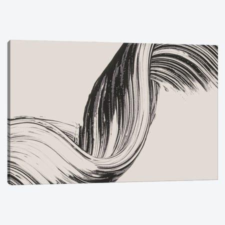 Brushed II Canvas Print #FBK224} by Design Fabrikken Canvas Artwork