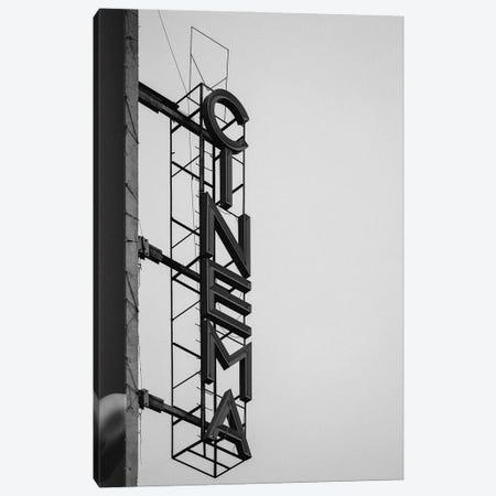 Cinema Canvas Print #FBK227} by Design Fabrikken Canvas Artwork