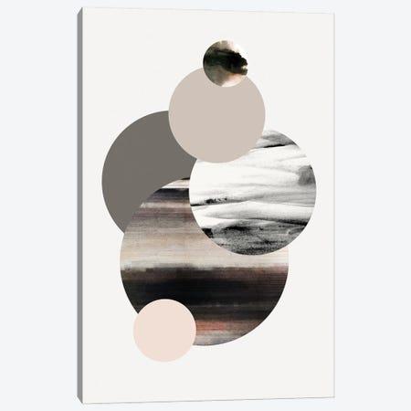 Circles I Canvas Print #FBK228} by Design Fabrikken Canvas Print