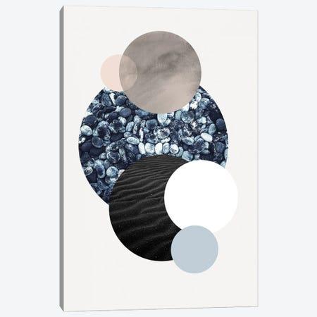 Circles II Canvas Print #FBK229} by Design Fabrikken Art Print