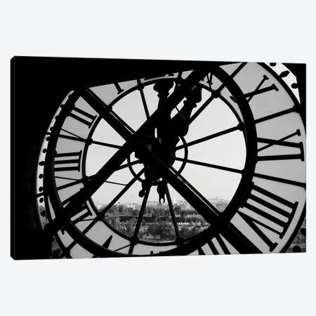 Clock Tower Canvas Print #FBK231} by Design Fabrikken Canvas Artwork
