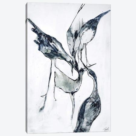 Crane II Canvas Print #FBK235} by Design Fabrikken Canvas Art Print