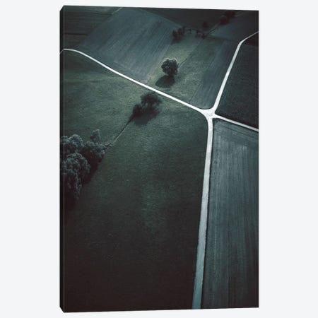 Crossroads Canvas Print #FBK236} by Design Fabrikken Canvas Art Print