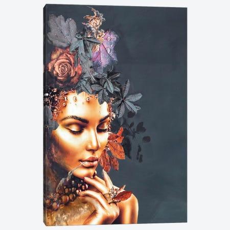 Gold Couture I Canvas Print #FBK24} by Design Fabrikken Canvas Artwork