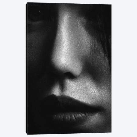 Face II Canvas Print #FBK251} by Design Fabrikken Canvas Art