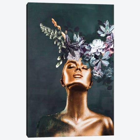 Gold Couture II Canvas Print #FBK25} by Design Fabrikken Canvas Art