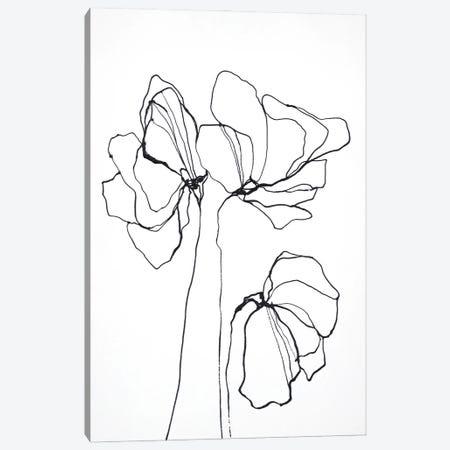 Fine Line VI Canvas Print #FBK262} by Design Fabrikken Canvas Art Print
