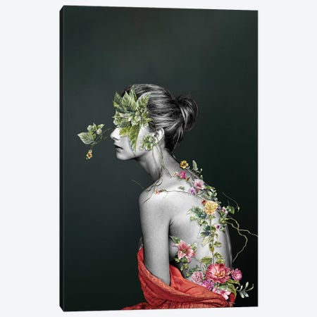 Greek Passion Canvas Print #FBK27} by Design Fabrikken Canvas Art