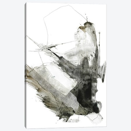 Graphical Shapes I Canvas Print #FBK288} by Design Fabrikken Art Print