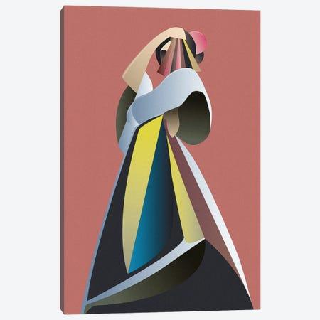 Off Chart I Canvas Print #FBK28} by Design Fabrikken Canvas Art Print