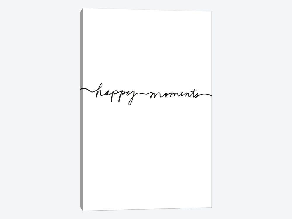 Happy Moments by Design Fabrikken 1-piece Canvas Art Print