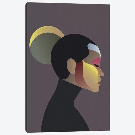 Off Chart II Canvas Print #FBK29} by Design Fabrikken Canvas Art Print