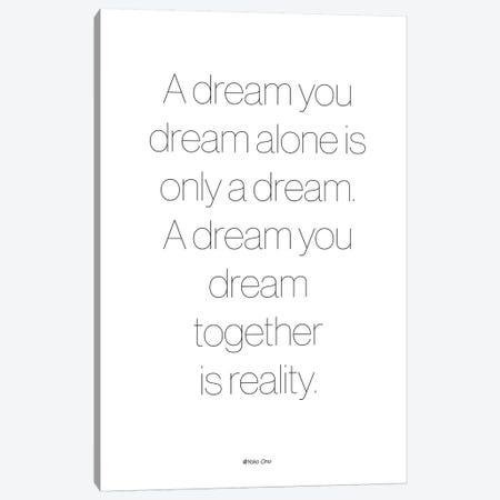 A Dream Canvas Print #FBK30} by Design Fabrikken Canvas Wall Art