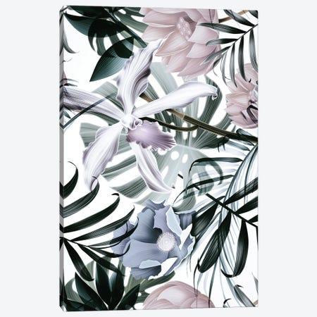 Jungle Fashion II Canvas Print #FBK315} by Design Fabrikken Canvas Art