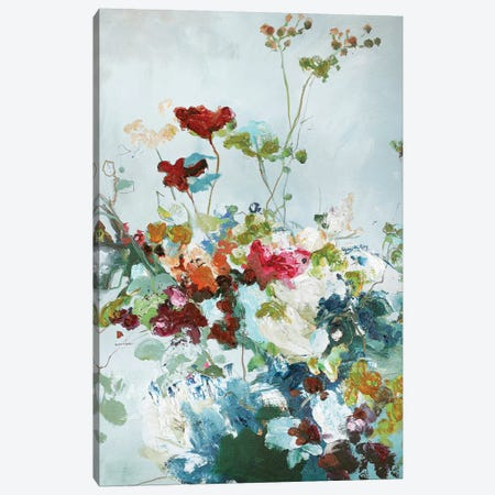 Abstract Floral I 3-Piece Canvas #FBK31} by Design Fabrikken Canvas Artwork