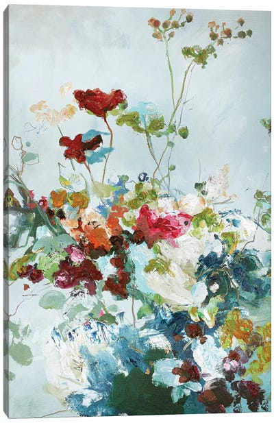 Abstract Floral I Canvas Art Print
