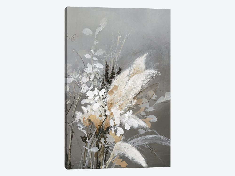 Light Leaves II by Design Fabrikken 1-piece Canvas Artwork