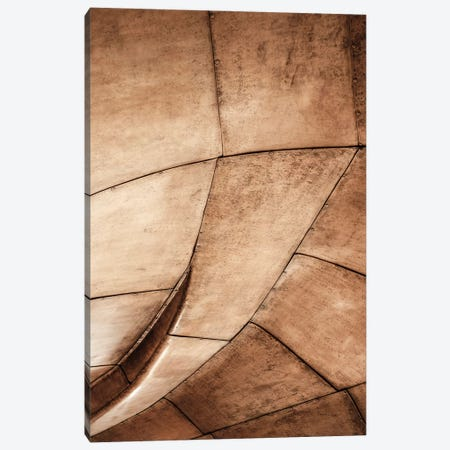 Metal Structure Canvas Print #FBK338} by Design Fabrikken Canvas Art Print