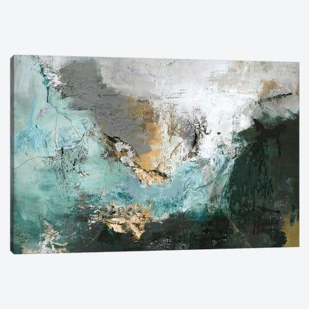 Arctic Green Canvas Print #FBK34} by Design Fabrikken Art Print
