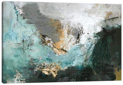 Arctic Green Canvas Art Print