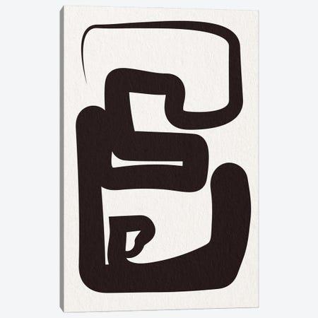 One Liners I Canvas Print #FBK352} by Design Fabrikken Canvas Art Print