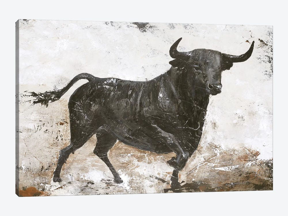 Black Bull by Design Fabrikken 1-piece Art Print