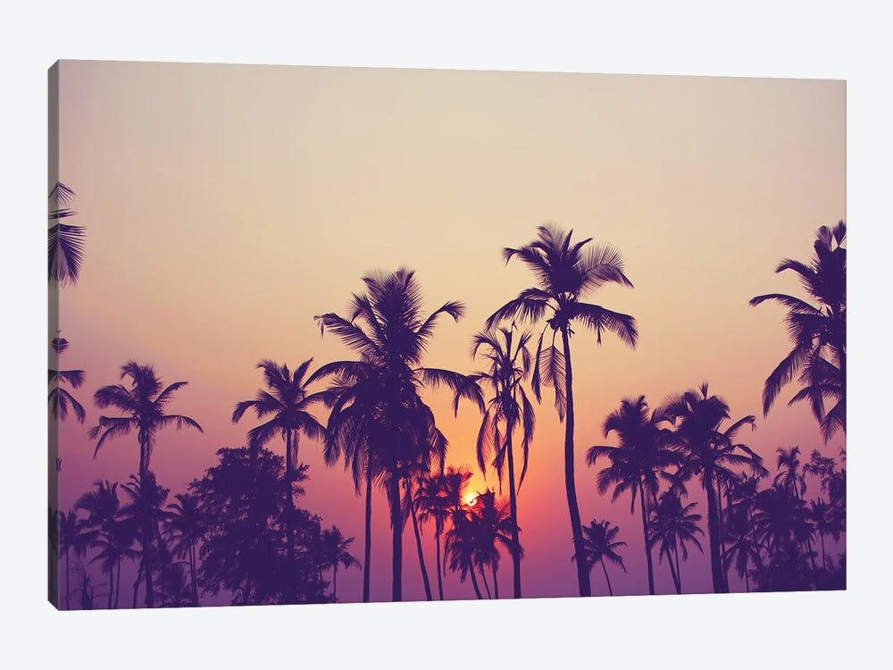 Palm Sky I by Design Fabrikken 1-piece Canvas Art