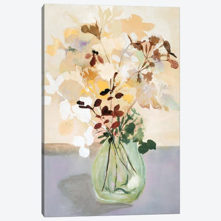 Pastel Flower II Canvas Print #FBK368} by Design Fabrikken Canvas Wall Art