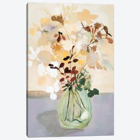 Pastel Flower II Canvas Print #FBK368} by Design Fabrikken Canvas Wall Art