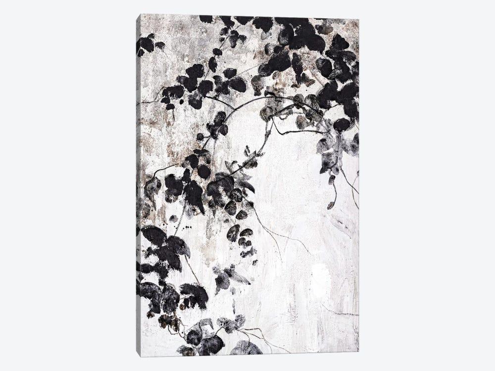 Black Leaves by Design Fabrikken 1-piece Canvas Artwork