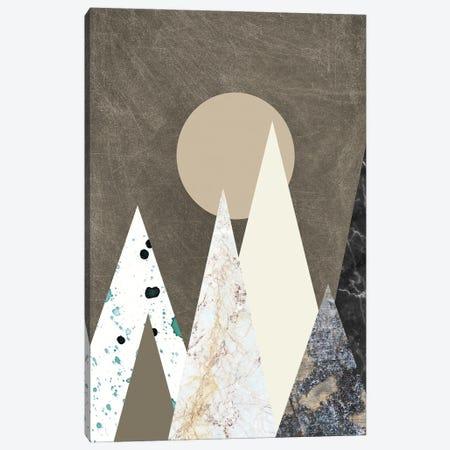 Peaks Canvas Print #FBK370} by Design Fabrikken Art Print