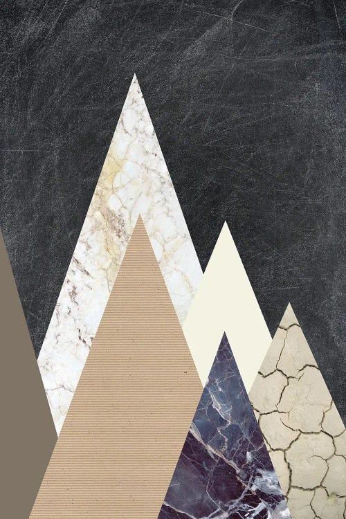 Peaks Ii Art Print By Design Fabrikken Icanvas