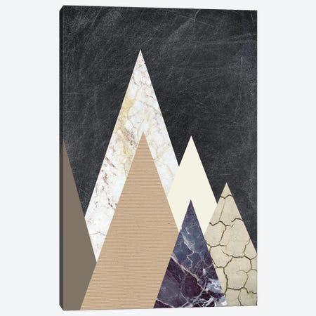 Peaks II Canvas Print #FBK371} by Design Fabrikken Canvas Print