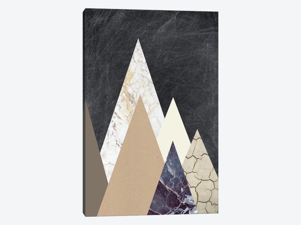 Peaks II by Design Fabrikken 1-piece Canvas Print