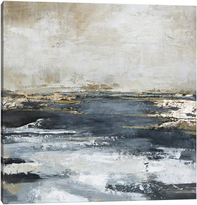 Blue Bay Canvas Art Print