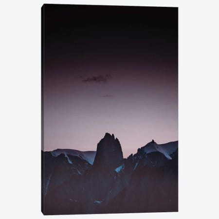 Purple Light I Canvas Print #FBK384} by Design Fabrikken Canvas Print