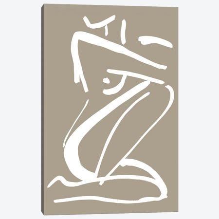 Sketch No. II Canvas Print #FBK424} by Design Fabrikken Canvas Wall Art