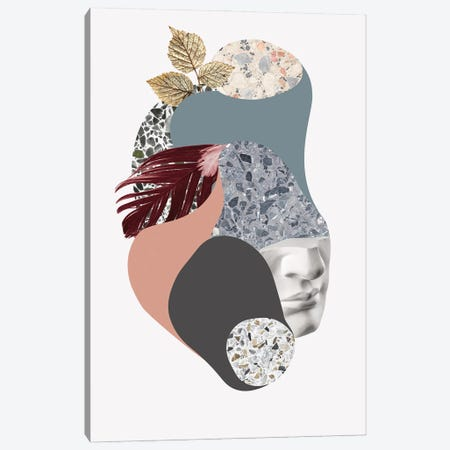 Terazzo Amoebe II Canvas Print #FBK437} by Design Fabrikken Canvas Art Print