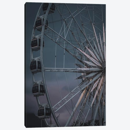 The Wheel Is Turning Canvas Print #FBK448} by Design Fabrikken Canvas Art Print