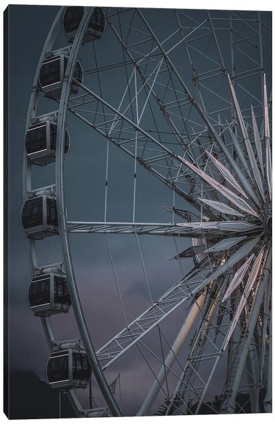 The Wheel Is Turning Canvas Art Print